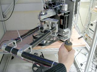 The robot used in these experiments